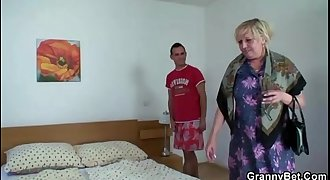 Old women and the youthfull boy sex