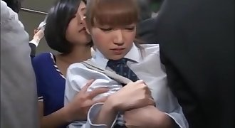 japanese lady gets molested in a train/ full video here:http://yoitect.com/2ox9