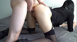 Horny Young Secretary Fucks With Office Boss And Shoot Video For Husband