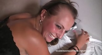 Snapchat: promoxsluts  - Danish Woman Get Hamered!