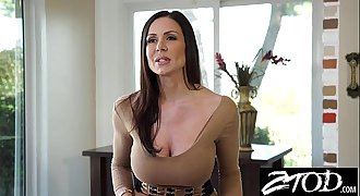 Kendra Lust is a big ass mummy who loves big cock