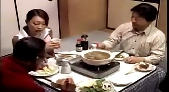 Japanese mature wife seduces neighbor to comfort her when her spouse is sleep